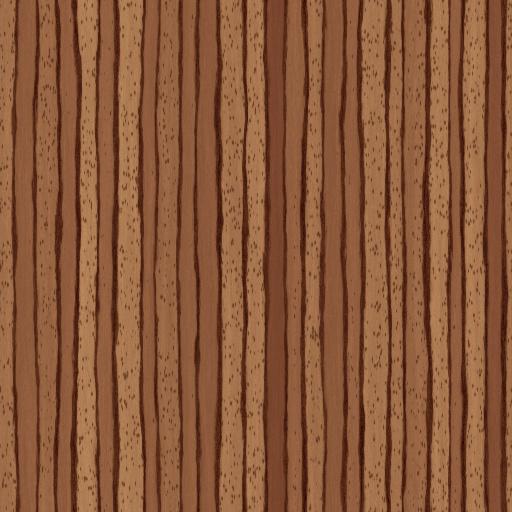 Zebrano wood (Texture)
