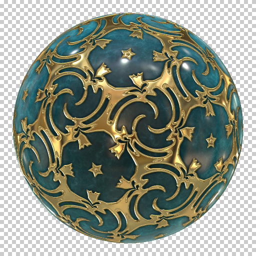 Ornamented Ball (Texture)