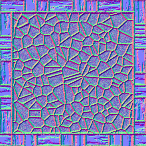 Wood stone floor normal map for Floor normal map
