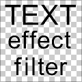 Text Effect Filter Base Snippet