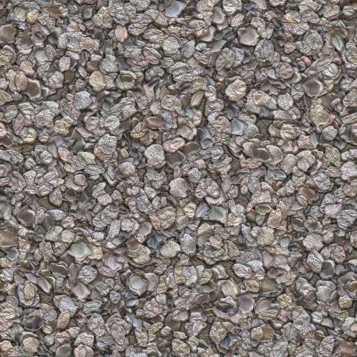 Realistic Gravel Texture