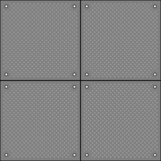 Floor Metal Plate 01 Bump Map