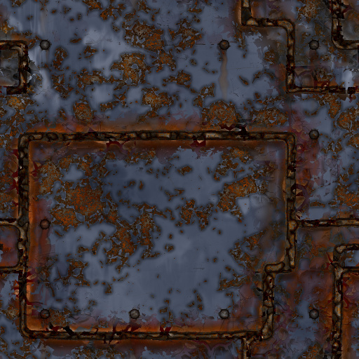 Derelict Welded Metal (Texture)