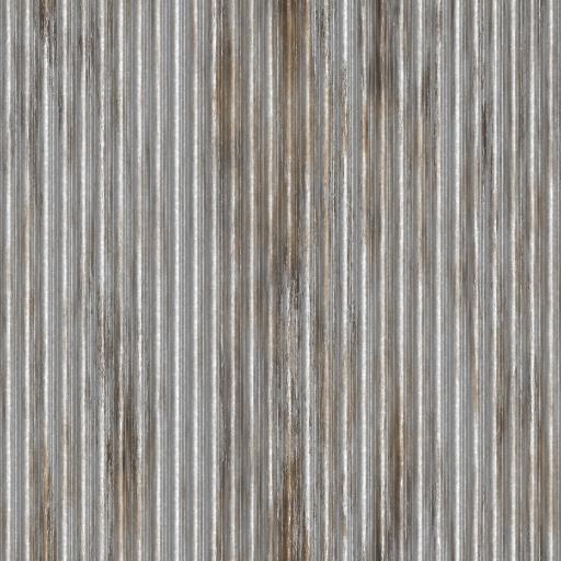 Corrugated Steel Texture
