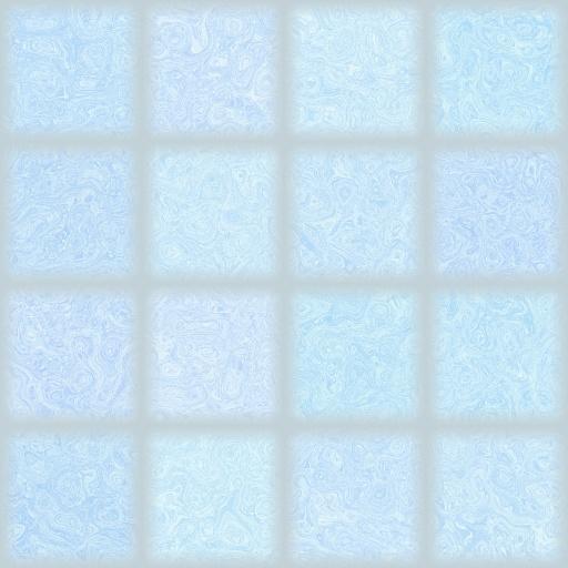 Blue Glass Tiles Texture