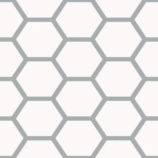 Hexagon Net Diffuse Map