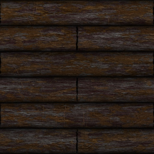 Cottage Log Wall Texture