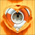 Glass Heart Frame