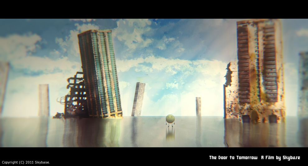 The Door to Tomorrow - BackgroundWork by Skybase