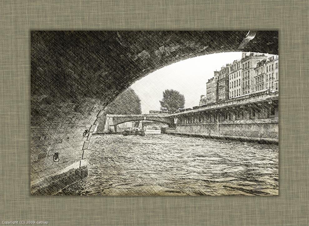Under Bridge (Paris in...