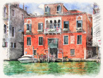Watercolor Venice