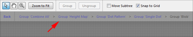 Navigating Nested Groups